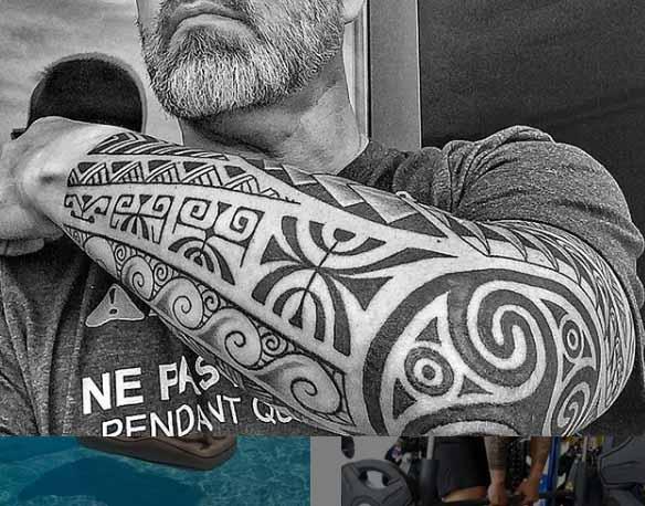 tatuaggio-braccio-maori